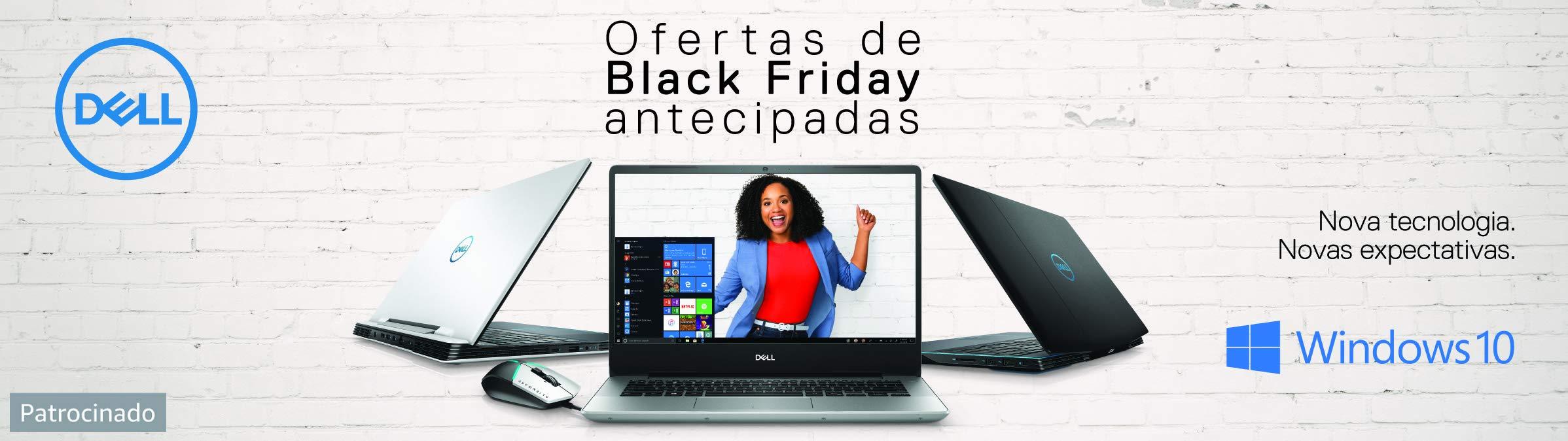 Ofertas de Black Friday antecipadas Dell