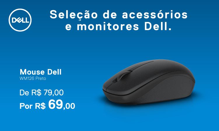 Mouse Dell por 69 reais