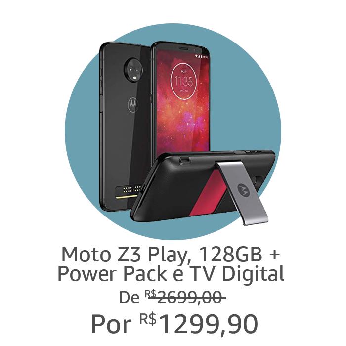 Moto Z3 | Por R$ 1299,90