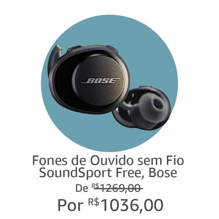 Bose sem fio | Por R$ 1036