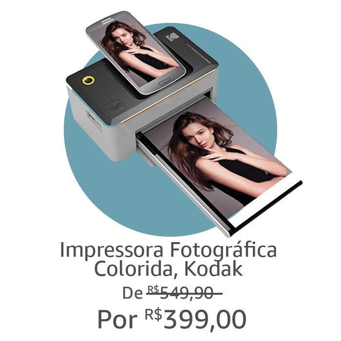 Impressora Fotográfica | Por R$ 399,00