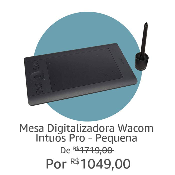 Mesa Digitalizadora Wacom| Por R$ 1049,00