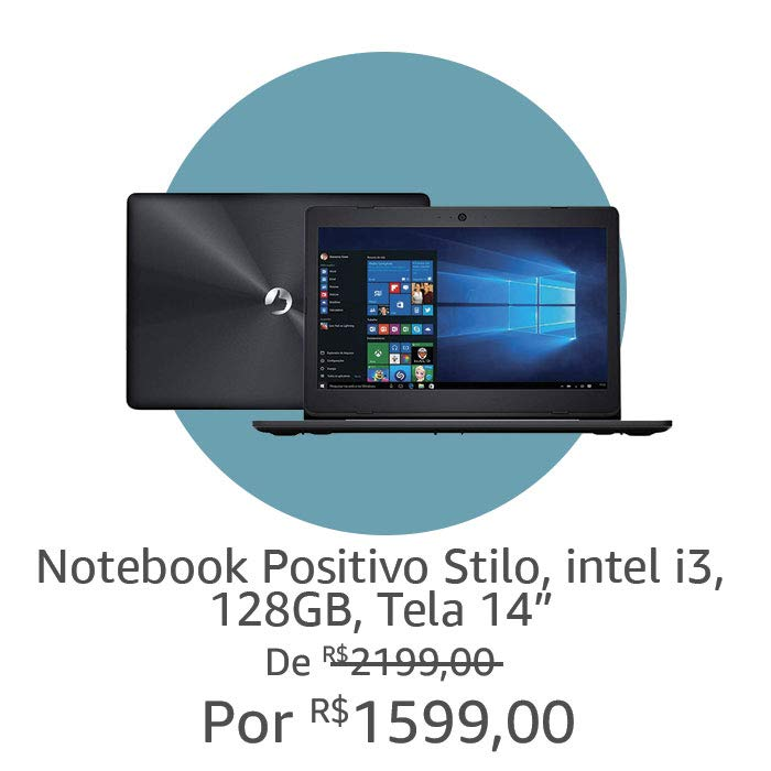 Notebook Positivo Stilo | Por R$ 1599,00