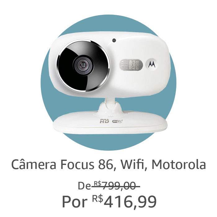 Câmera Focus 86, WiFI, Motorola
