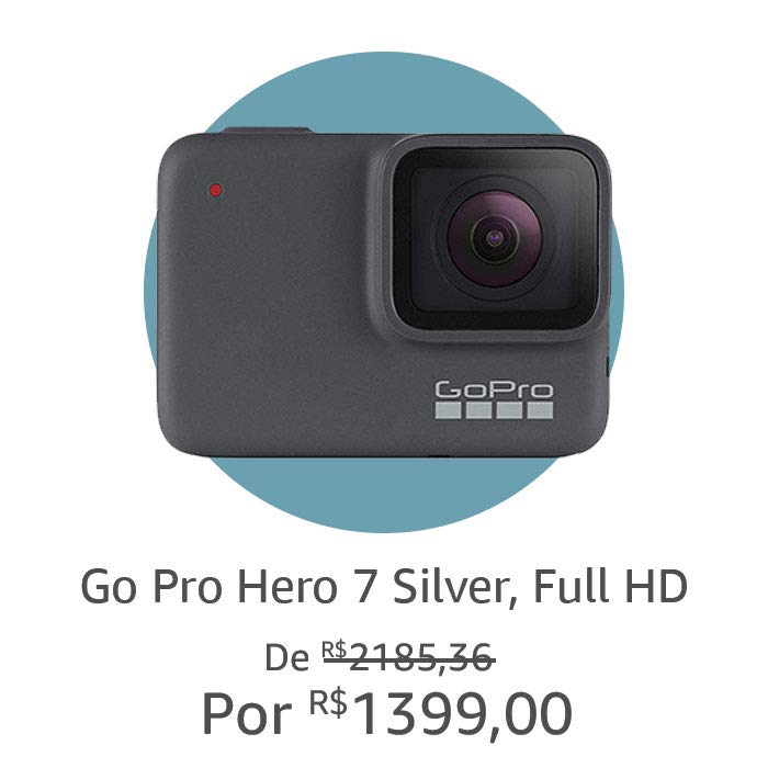 Go Pro Hero 7 Silver, Full HD