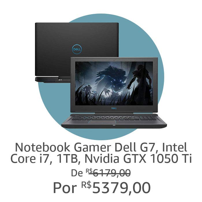 Notebook Gamer Dell G7