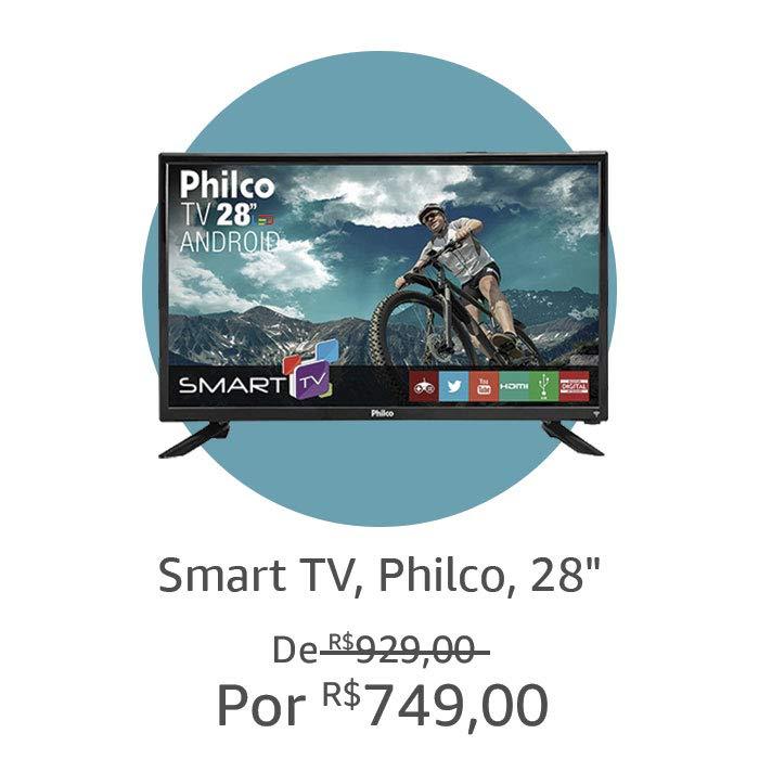 Smart TV, Philco, 28''