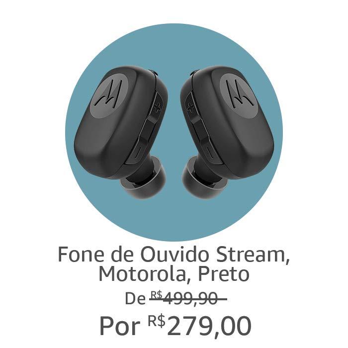 Fone de Ouvido Motorola sem fio | Por R$279,00