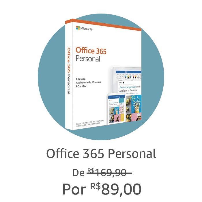 Office 365 Personal | Por R$89,00