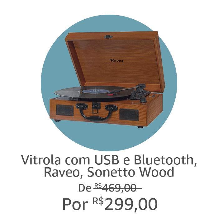 Vitrola, Raveo Wood | Por R$299,00