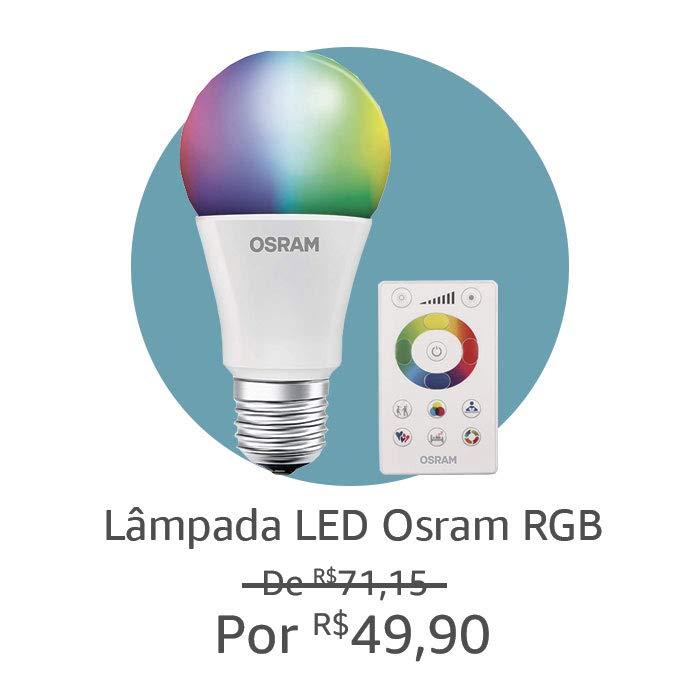 Lâmpada Led Osram RGB
