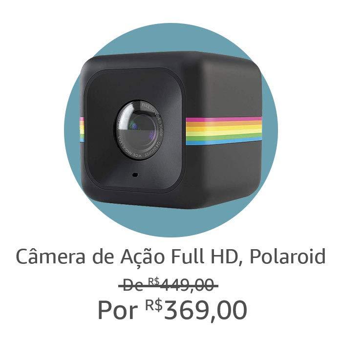 Câmera de Ação Full HD, Polaroid