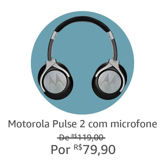 Fone de Ouvido Motorola Pulse 2