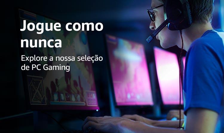 Jogue como nunca - Explore a nossa seleção de PC Gaming