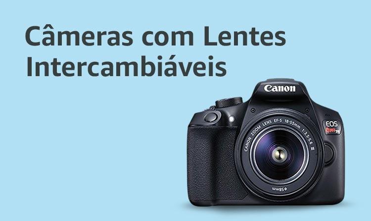 Câmeras com Lentes Intercambiáveis