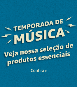 Temporada de música - Veja nossa seleção de produtos essenciais