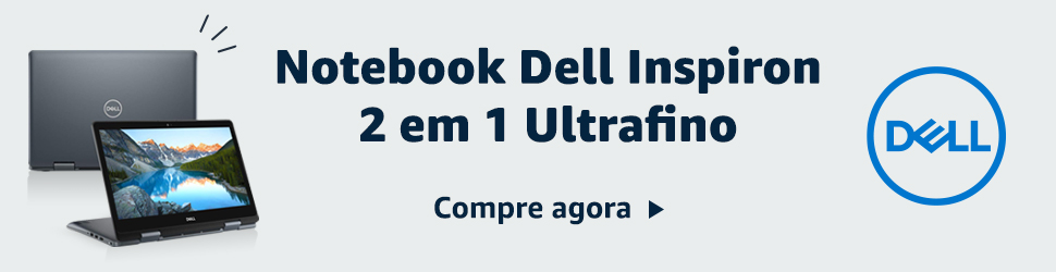 Notebook Dell Inspiron 2 em 1 Ultrafino