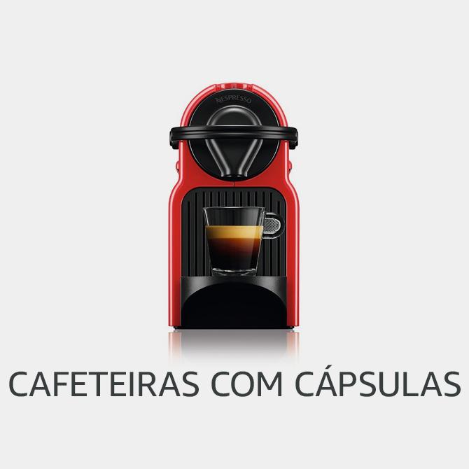 Cafeteira com cápsulas