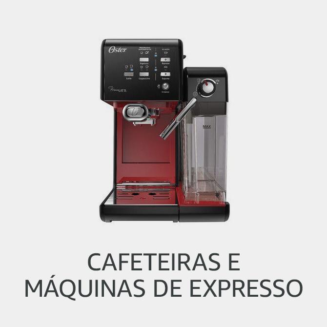 Cafeteiras e  Máquinas de Expresso