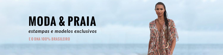 Moda & Praia estampas e modelos exclusivos - DNA 100% brasileiro