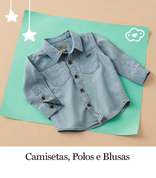 Camisetas, Polos e Blusas