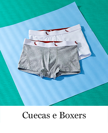 Cuecas e Boxers