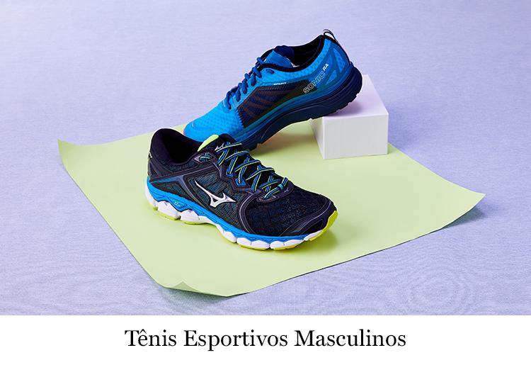 Tênis esportivos masculinos