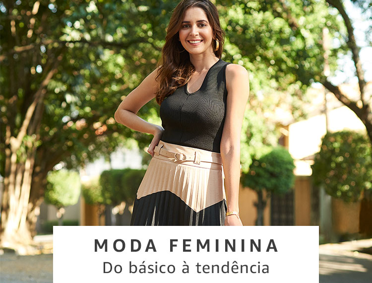 Moda Feminina na Amazon Brasil