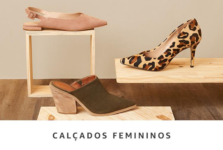 Calçados Femininos na Amazon Brasil