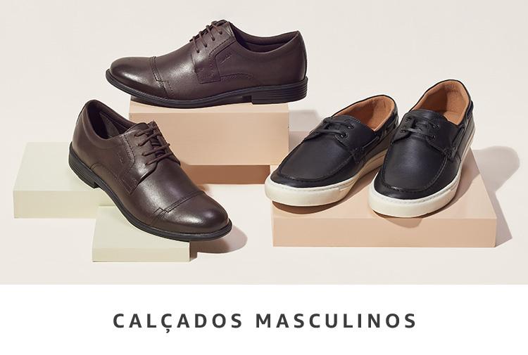 Calçados Masculinos na Amazon Moda