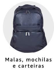 malas, mochilas e carteiras