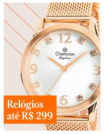 Relógios até R$299