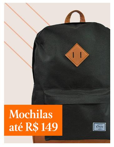 Mochilas até R$149