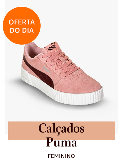 Oferta do Dia em Calçados Puma Femininos e Masculinos