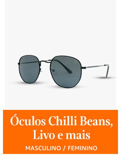 óculos Chilli Beans, Livo e mais