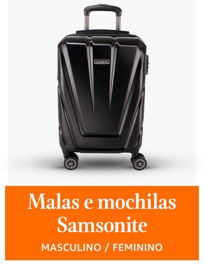 Malas e mochilas Samsonite