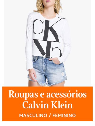 Roupas e acessórios Calvin Klein