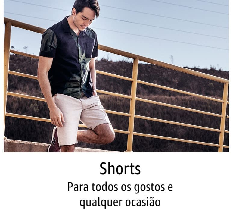 Shorts para todos os gostos e ocasiões