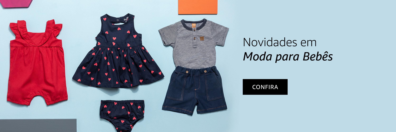 Novidades em Moda para Bebês
