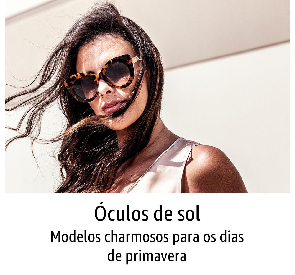 Óculos de sol: modelos charmosos para os dias de primavera