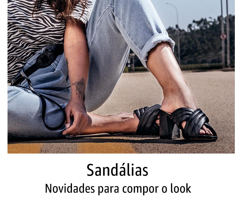 Sandálias: novidades para compor o look