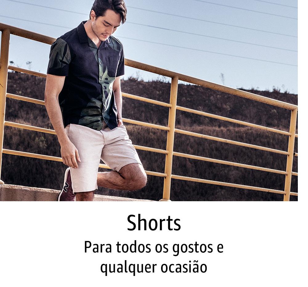 Shorts: para todos os gostos e qualquer ocasião