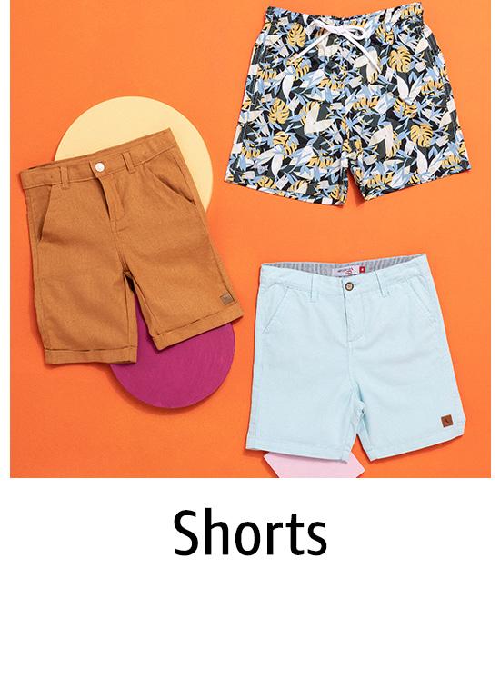 Shorts para Meninos