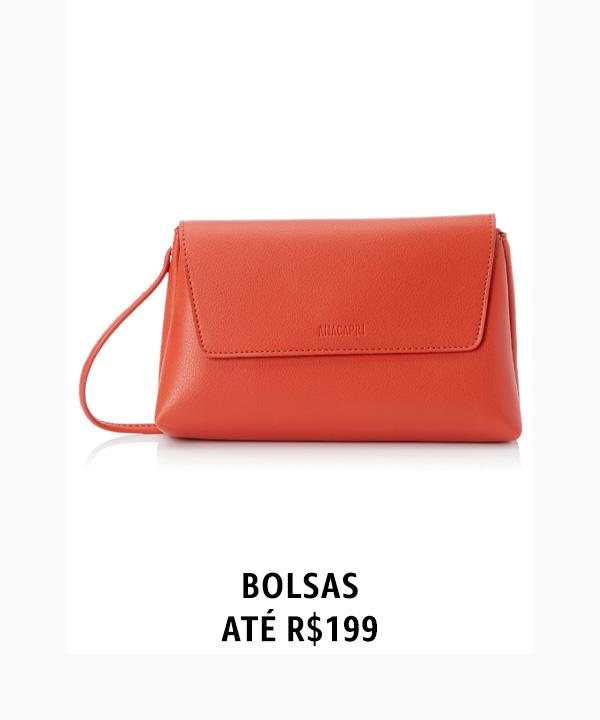 Bolsas até R$199
