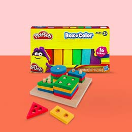 Brinquedos para aprender se divertindo.