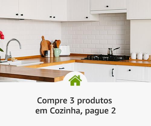 Compre 3 produtos em Cozinha, pague 2