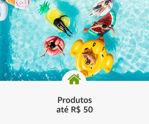 Produtos até R$ 50