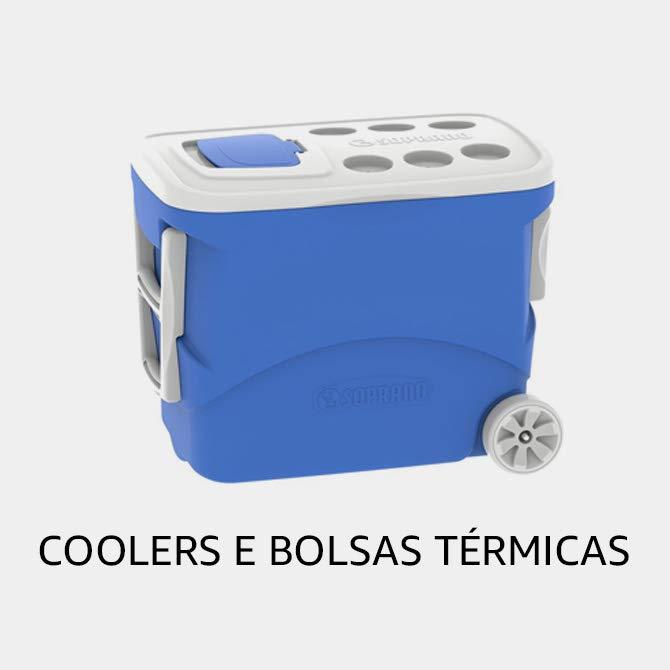 Coolers e Bolsas Térmicas