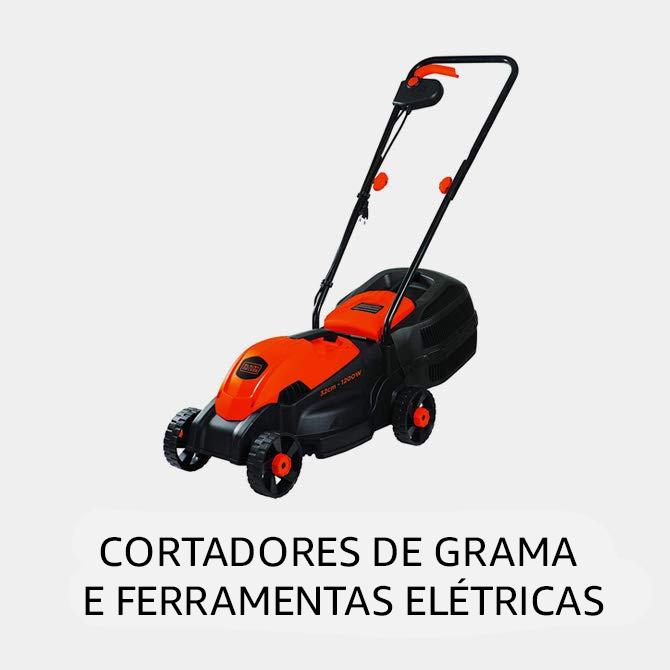 Cortador de Grama e Ferramentas Elétricas