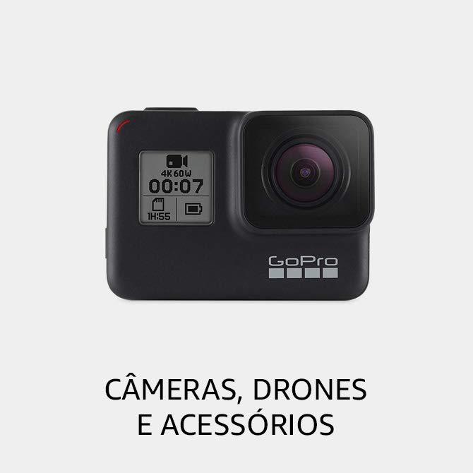 Câmeras, Drones e Acessórios